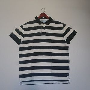 9e7b6e1c654 American Eagle Outfitters Shirts - American Eagle men's striped polo in L  100% cotton